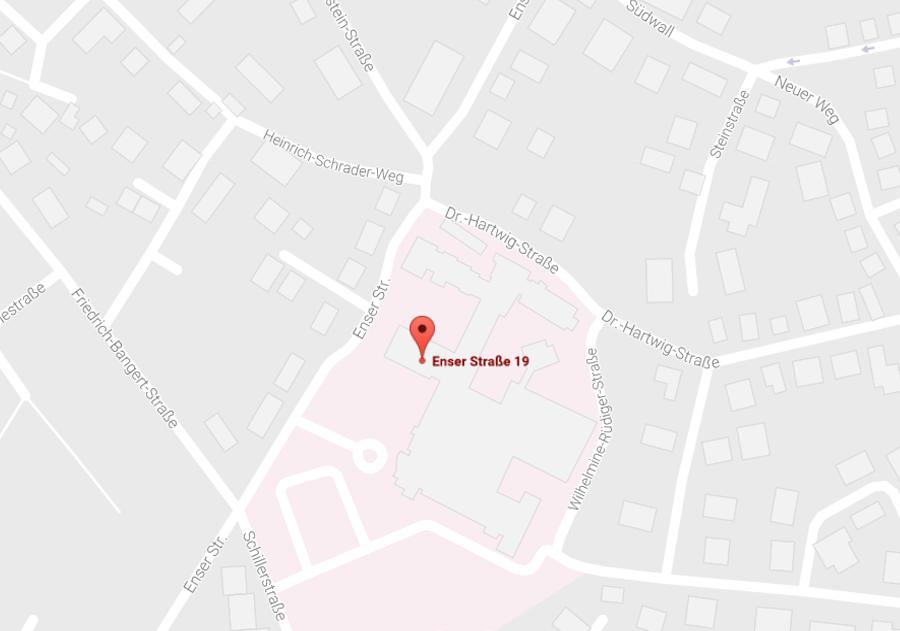 Hessenklinik Korbach - Karte